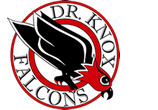 École Dr Knox Middle School logo
